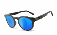 COR001 wood sunglasses - laser blue