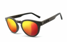 COR001 wood sunglasses - laser red