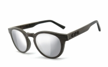 COR001 wood sunglasses - laser silver