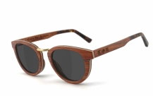 COR003 wood sunglasses