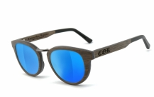 COR004 wood sunglasses - laser blue