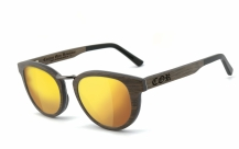 COR-004 Wooden sunglasses laser gold