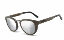 COR004 wood sunglasses - laser silver