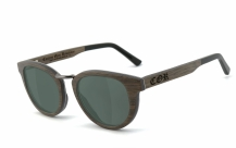 COR004 wood sunglasses - gray-green polarized