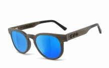 COR005 wood sunglasses - laser blue
