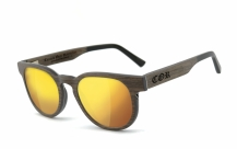 COR-005 Wooden sunglasses laser gold