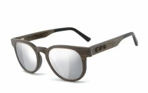COR005 wood sunglasses - laser silver