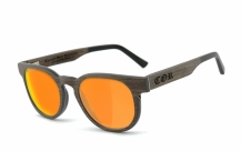 COR-005 Holz Sonnenbrille orange
