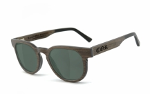 COR005 wood sunglasses - gray-green polarized