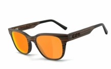 COR-012 Holz Sonnenbrille orange