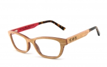 COR008 Holzbrille