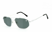 Lesebrille 009 chrom/smoke