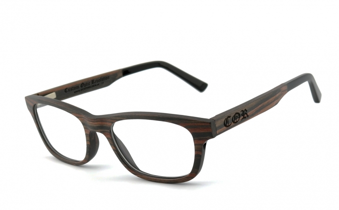 COR-010 Holzbrille