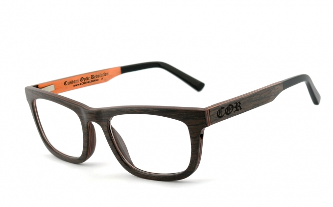 COR-017 Holzbrille