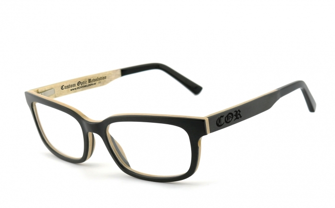 COR006 Holzbrille