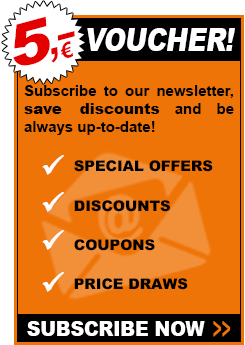 Newsletter - 5 EURO VOUCHER!