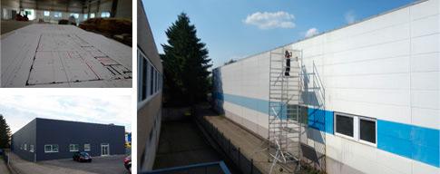 HELBRECHT optics saniert und renoviert neue Halle